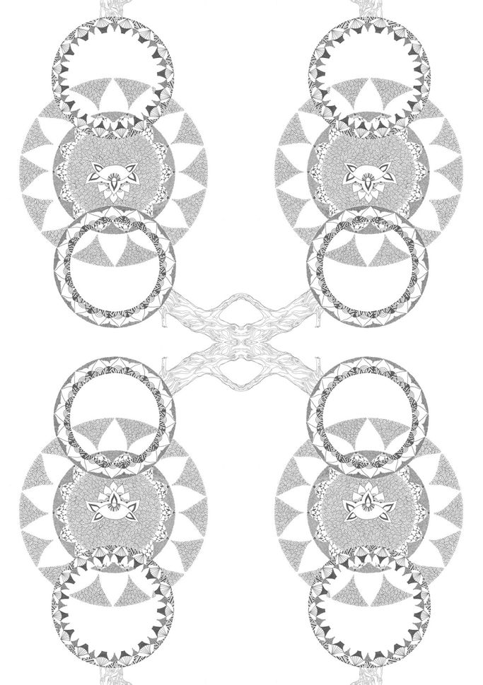 Mandalas  https://www.behance.net/gallery/34311957/The-revelation-of-the-center