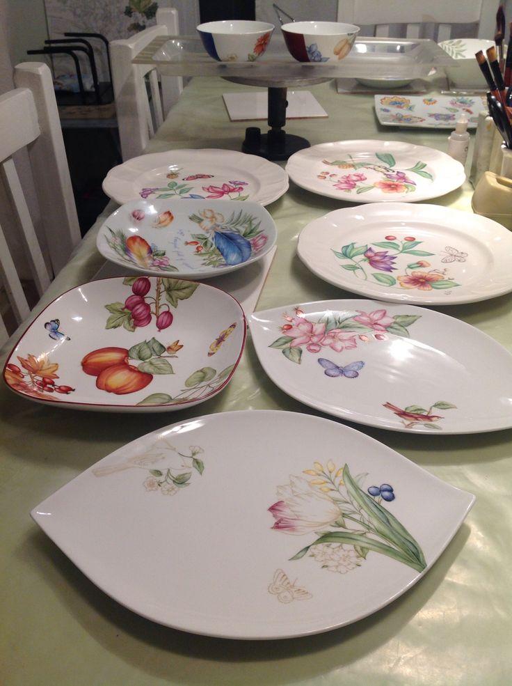 Les 1099 meilleures images du tableau porcelaine peinte for Decoration sur porcelaine