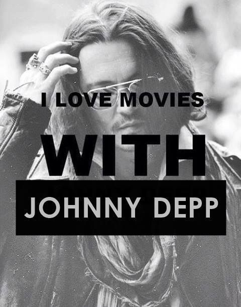 I do indeed enjoy a movie with Johnny Depp.  I like just looking at his pictures!