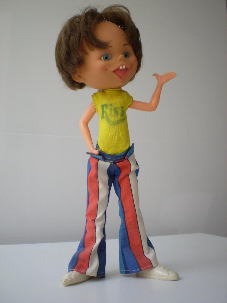 Muñeco promocional patatas Risi, años 70