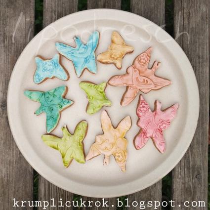 vintage cookies pillangós mézesek  http://krumplicukrok.blogspot.hu/