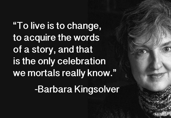 The Only Celebration We Mortals Know: Happy Birthday, Barbara Kingsolver