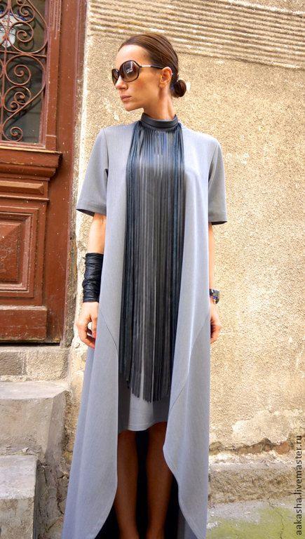 Купить Платье Long short Grey - платье, платья, пллатья в пол, длинные платья