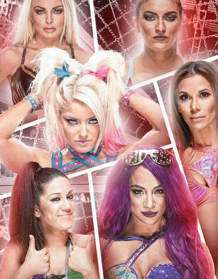 Woman's Eliminated Chambers PPV: Mandy Rose vs Sonya DeVille vs Alexa Bliss (c) vs Mickie James vs Bayley vs Sasha Banks for Raw Woman Champion