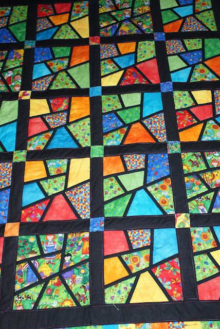 Stained Glass Quilt Quilting Inspires Stained Glass