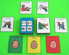BEHAVIOR CUE CARDS 71 PECS Autism ABA Speech Therapy