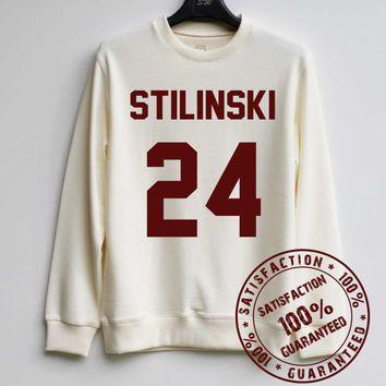 STILINSKI 24 Sweatshirt Teen Wolf Sweater Stiles Stilinski Shirt Hoodie – Size XS S M L XL