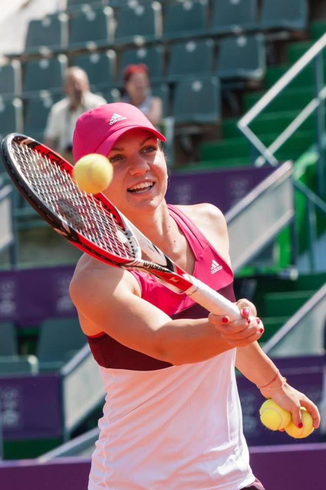 Simona Halep @ Bucharest Open 2014