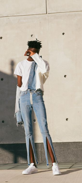 Well crafted. We collaborated with designer Virgil Abloh to create the Levi's Made & Crafted x Off-White line. Here's an exclusive image of the collection from High Snobiety.