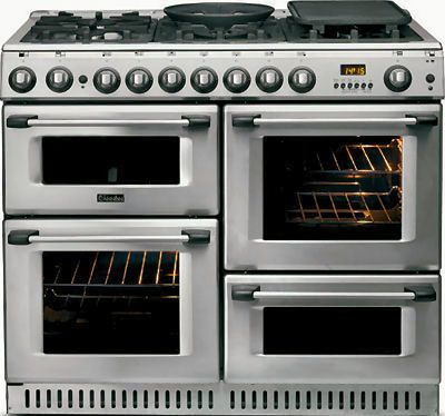 Professional cooker - Cannon professional gas cooker in stainless ...