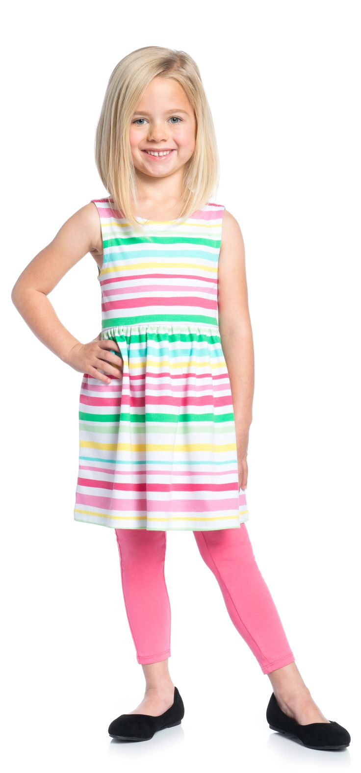 Pretty in Stripes Outfit  - PIN TO WIN! Enter the February Fresh Pinterest Contest for a chance to win a brand-new FabKids wardrobe! Ends 2/19#FabKidsFebFresh @FabKids
