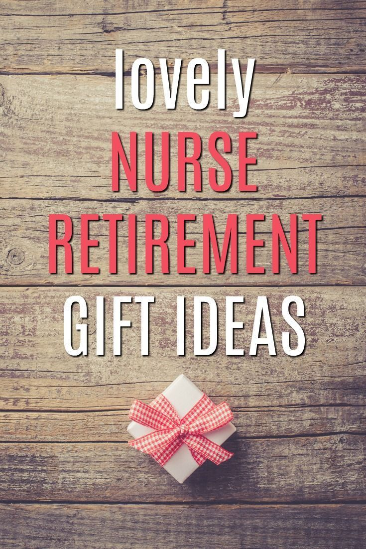 Know a lovely nurse about to retire? Say thank you with one of these gift ideas! | Nurse Retirement Gifts | Gifts for Retiring Nurses | Medical Retirement Presents | RN and LPN gifts | Nurse Bait