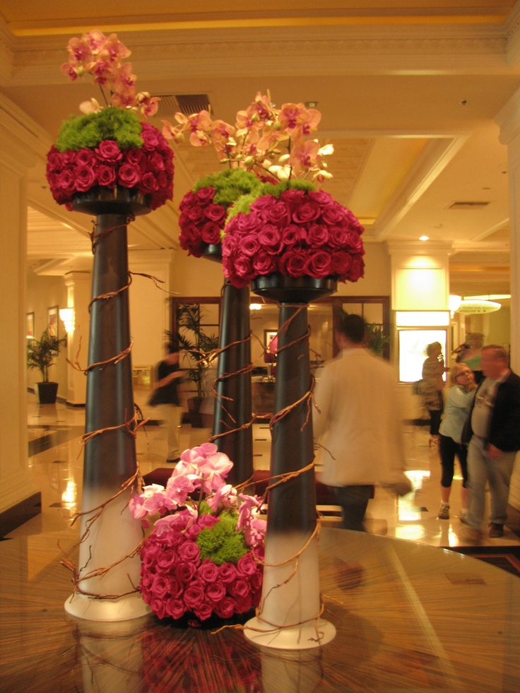 17 Best images about Awesome Hotel Floral Arrangements on