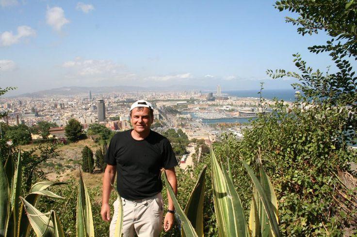 Барселона, вид с горы