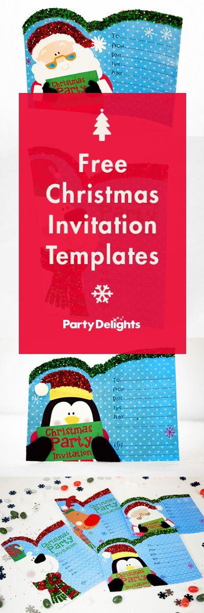 The 25+ best Free christmas invitation templates ideas on - free invitation download