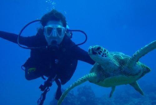 Scuba diving    http://whatisthewik.com/most/dangerous-sports/