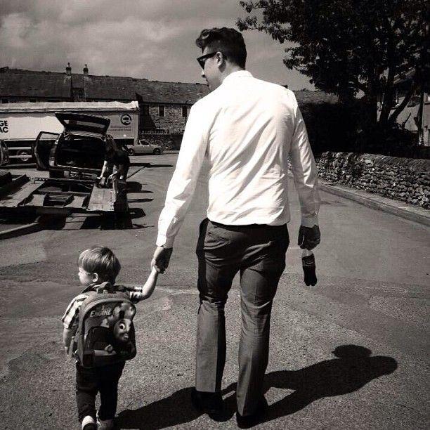 John Newman and nephew :)