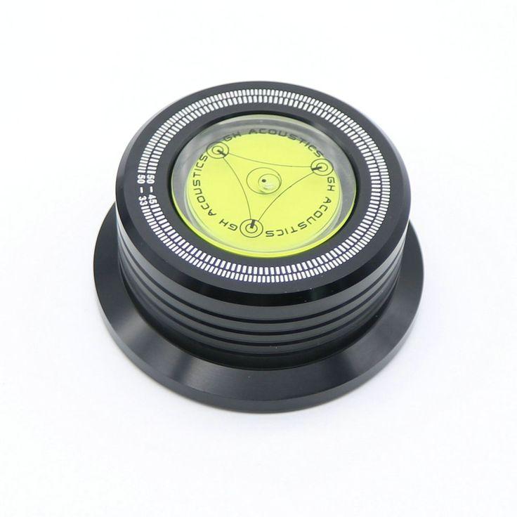 จัดส่งฟรี3 In 1บันทึกหนีบLPแผ่นโคลงแผ่นเสียงสำหรับการสั่นสะเทือนเสถียรภาพความเร็วในการหมุนแนวนอนสีดำใหม่