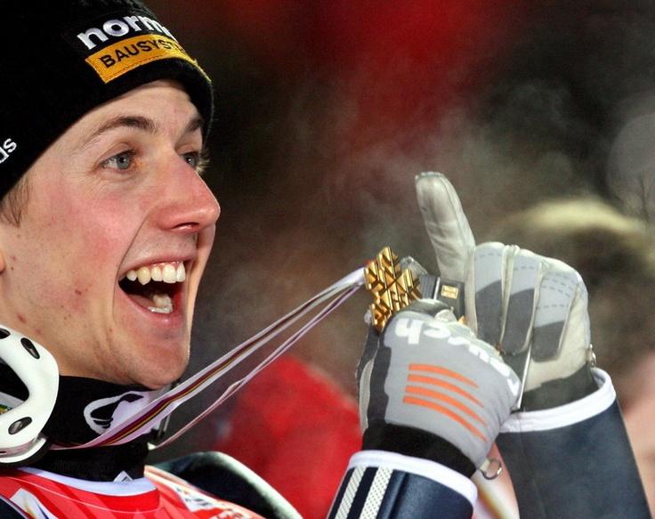 Simon Ammann (Switzerland), Ski Jumping