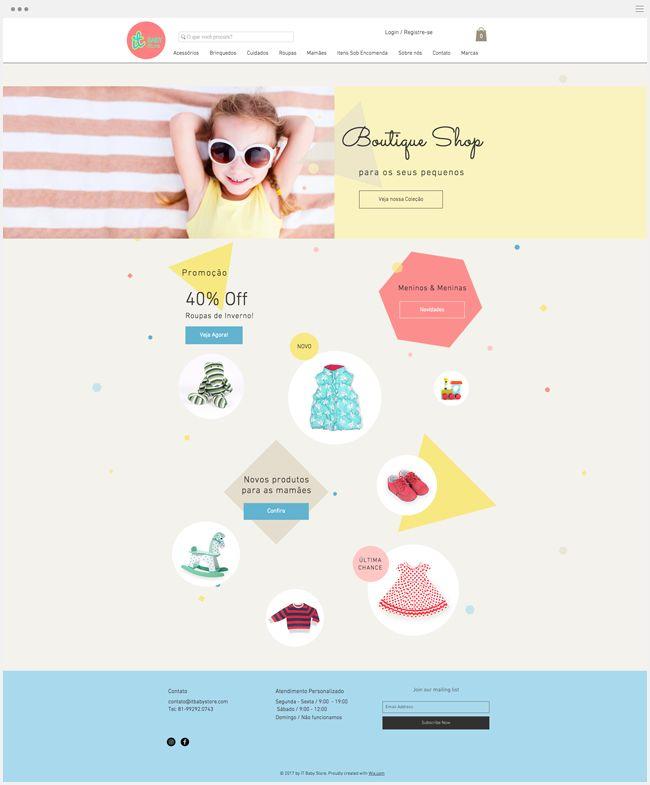 It Baby Store | Online baby store