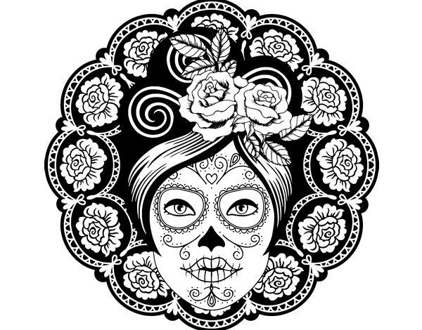Más de 1000 ideas sobre Dibujos De Calaveras Mexicanas en Pinterest