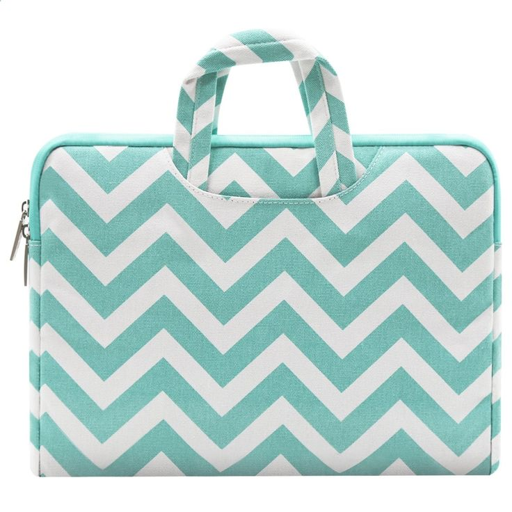Ultrabook Laptops - Mosiso Chevron Briefcase Only for Macbook 12-Inch with Retina Display 2017/2016/2015 Release Canvas Fabric Laptop Handbag Case Cover, Hot Blue  - TOP10 BEST LAPTOPS 2017 (ULTRABOOK, HYBRID, GAMES ...)