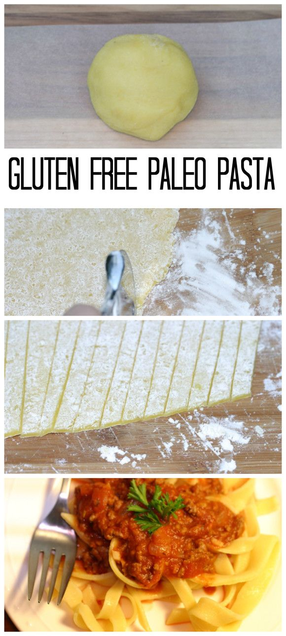 Gluten Free Paleo Pasta. Dairy Free. Made with organic eggs, blanched almond flour and tapioca flour. The best homemade gluten free pasta noodles. Paleo/Dairy Free.