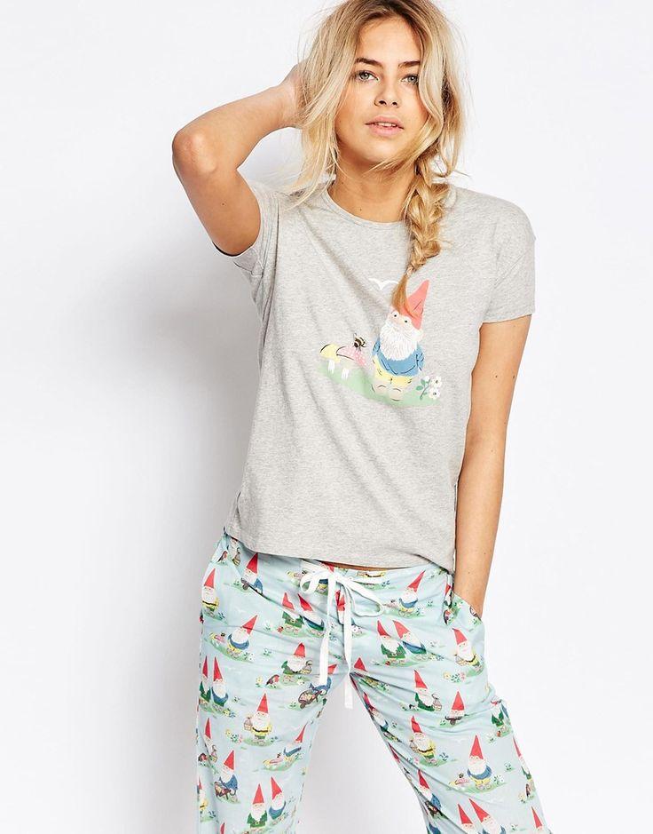 Image 1 ofCath Kidston Garden Gnome Pyjama Tshirt