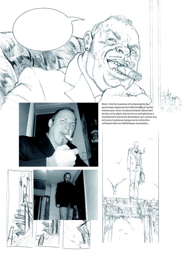 Etude des personnages par Philippe Charlot et Alexis Chabert