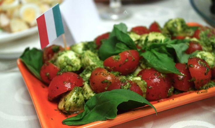 Меню для итальянской вечеринки
