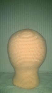 Ravelry: Mannequin Head Adult/Cabeza Maniqui Talle Adultos pattern by Mel Garcia Tello