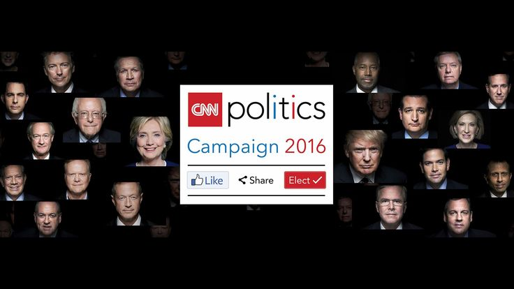 "In partnership with CNN, the Newseum presents ""CNN Politics Campaign 2016: Like, Share, Elect,"" a new interactive exhibit that tells the story of the 2016 pr..."