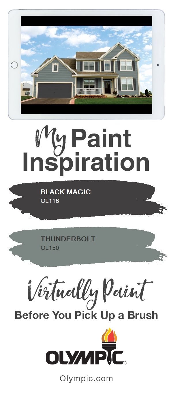 17 best digital paint color tools by olympic paints images for Digitally paint your house