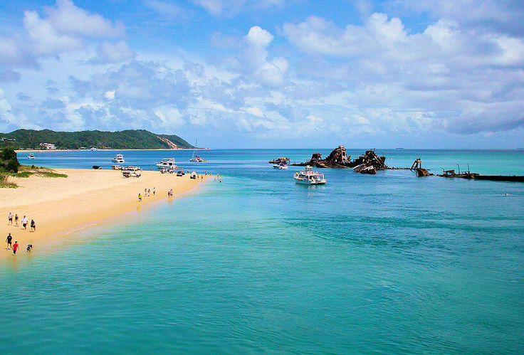 Tangalooma Tourist Resort Moreton Island Australia