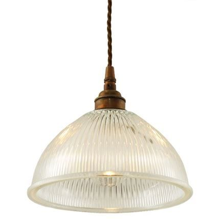 Show details for Boston Industrial Holophane Pendant