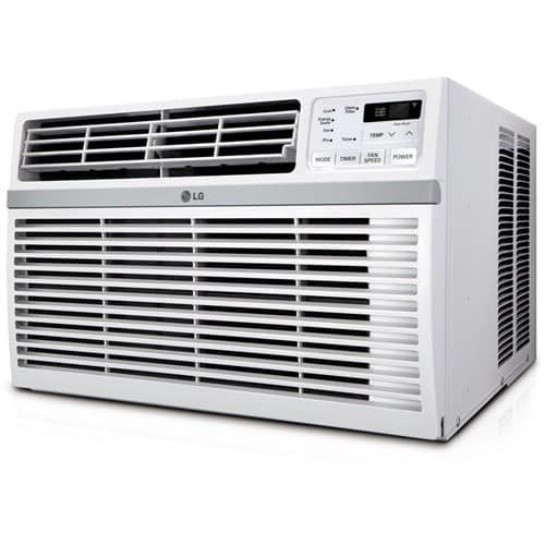 LG LW1816ER 18000 BTU Window Air Conditioner with Remote Control, Gold