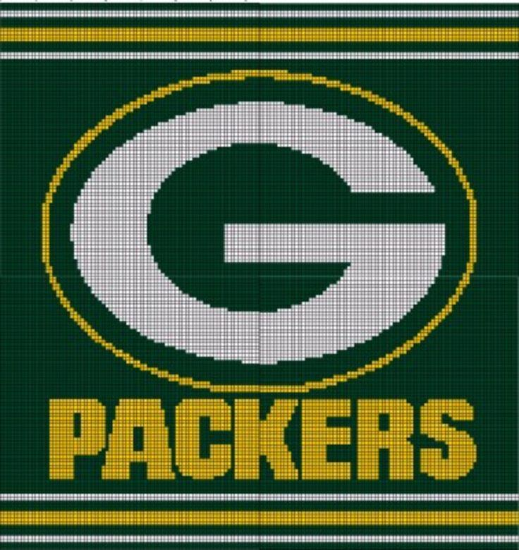 Green Bay Packers Crochet Pattern Afghan Graph, USD3.5 ...