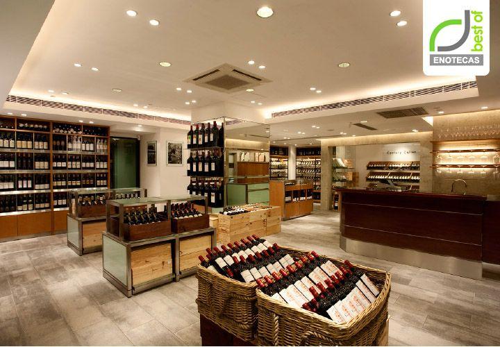 ENOTECAS! Wine Shop Enoteca branding by Amber, Hong Kong