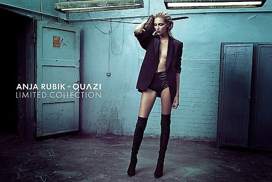 Anja Rubik + Quazi (Limited Collection)Fall 2010Model: Anja RubikPhotographer: Artur Wesolowski