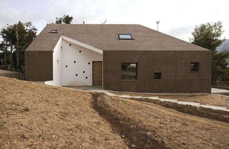paan architects, Yiannis Hadjiaslanis · Ηill house · Divisare