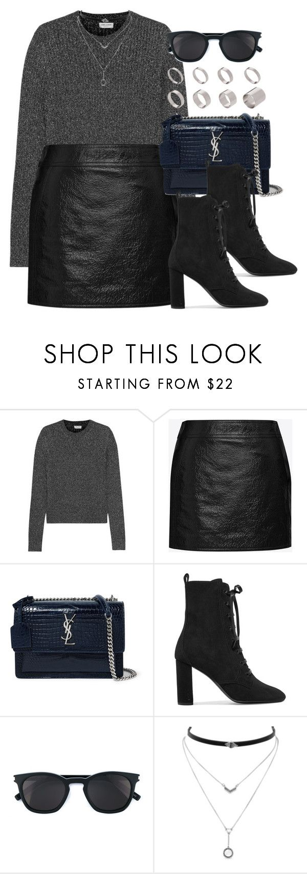 """#13822"" by vany-alvarado ❤ liked on Polyvore featuring Yves Saint Laurent, Jessica Simpson and ASOS"