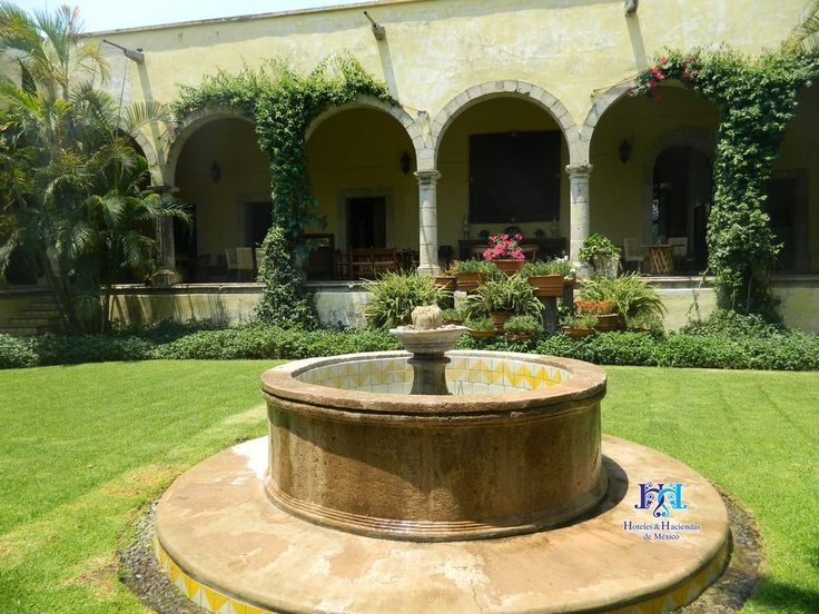 Patio Central de Hacienda en Jalisco