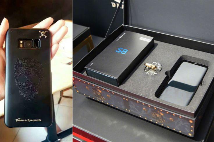 Karayip Korsanları 5 filmine özel Galaxy S8 akıllı telefonları satışa çıkıyor. Karayip Korsanları 5 temalı telefonların özellikleri neler? İşte tüm detaylar.