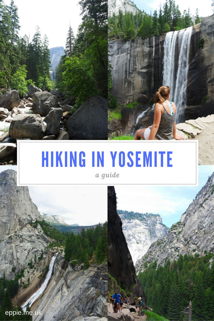A guide to hiking in Yosemite - the John Muir and Mist Trail to see Nevada and Vernal Falls - http://eppie.me.uk/travel/hiking-the-yosemite-mist-trail/