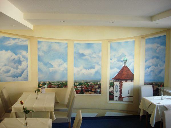 100 best commercial custom murals images on pinterest for Commercial mural painting