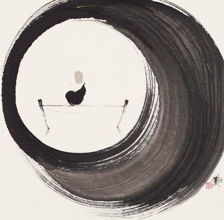 墨趣禅境——关于禅意水墨画的思考--观点--人民网