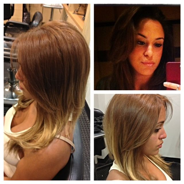 161 best images about hair make overs on pinterest see for 3 brunettes and a blonde salon