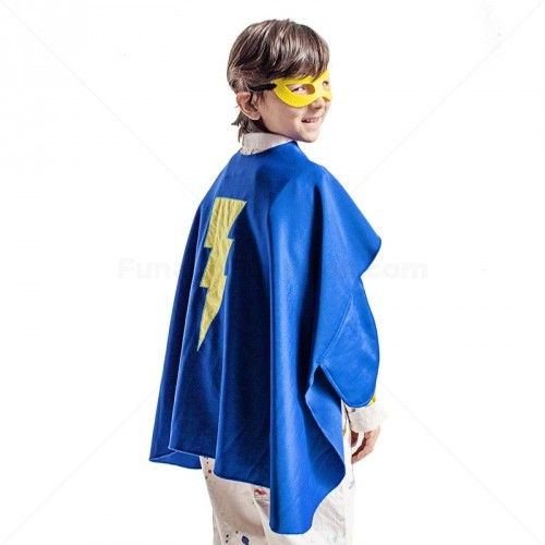 Sensory seeking kids love this fun superhero costume cape with stretch that provides deep hug compression along with fun costume play!