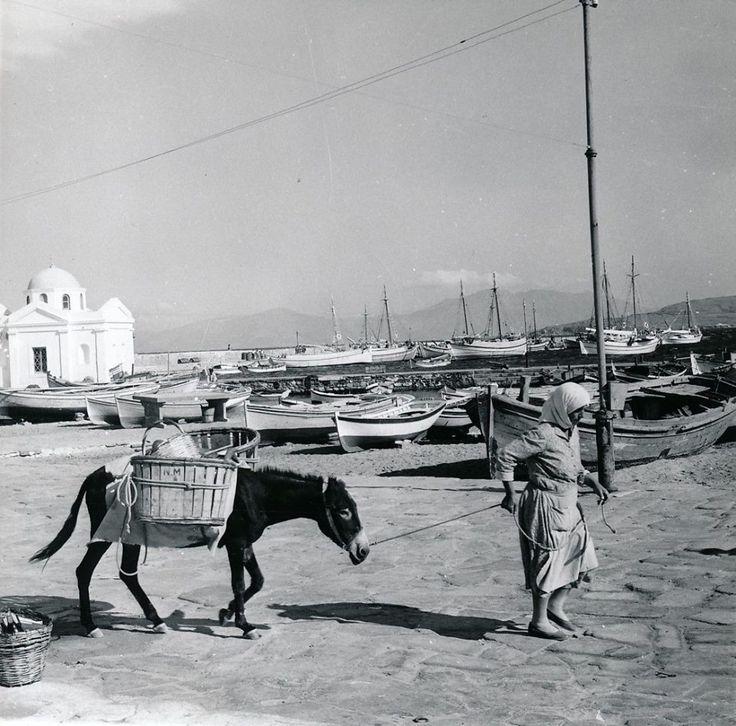 GOLDNER Μύκονος περ.1950