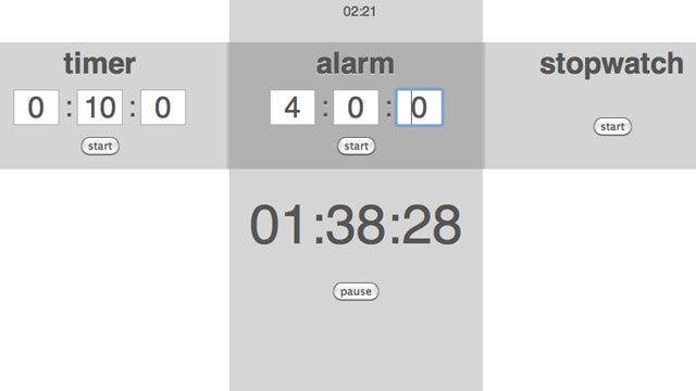 タイマー、アラーム、ストップウォッチが気軽に使えるChromeの拡張機能『Timer Tab』